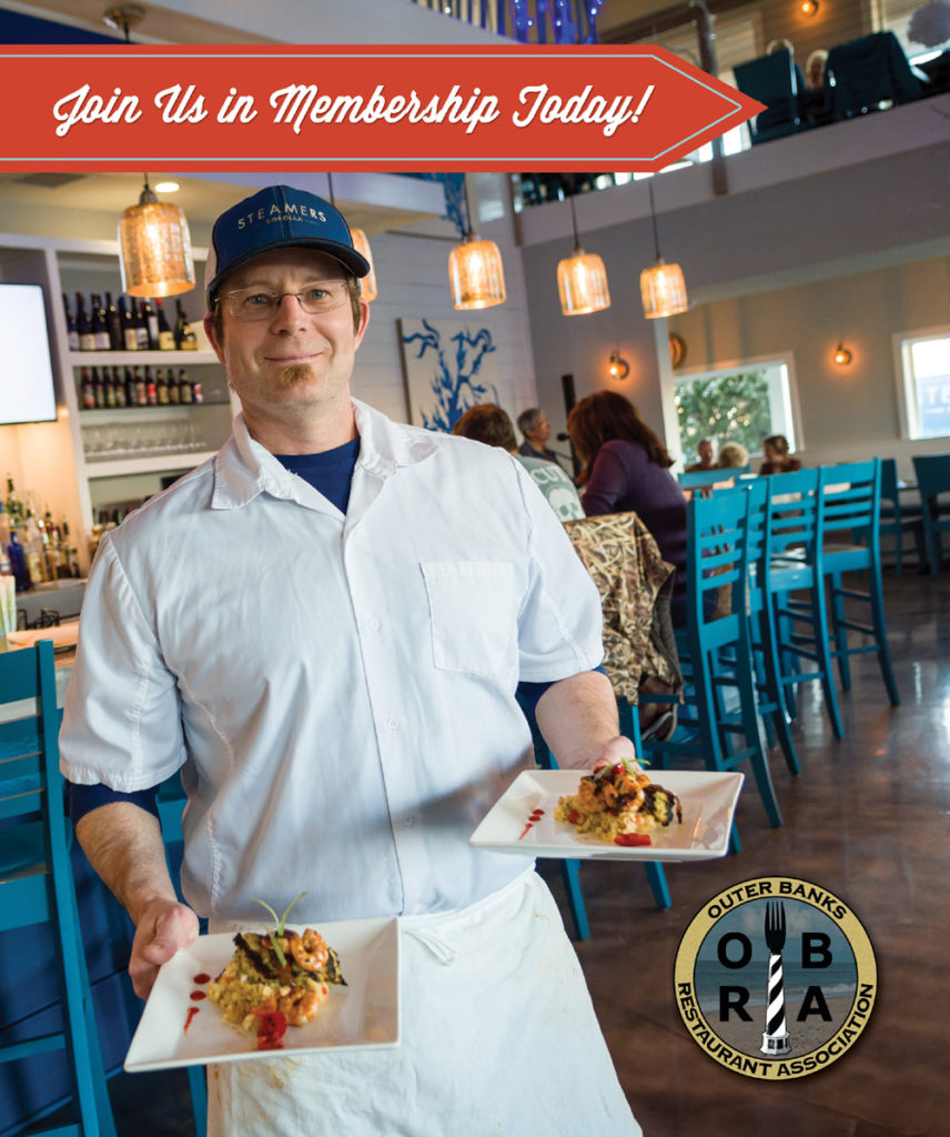 Outer Banks Restaurant Association Membership Brochure
