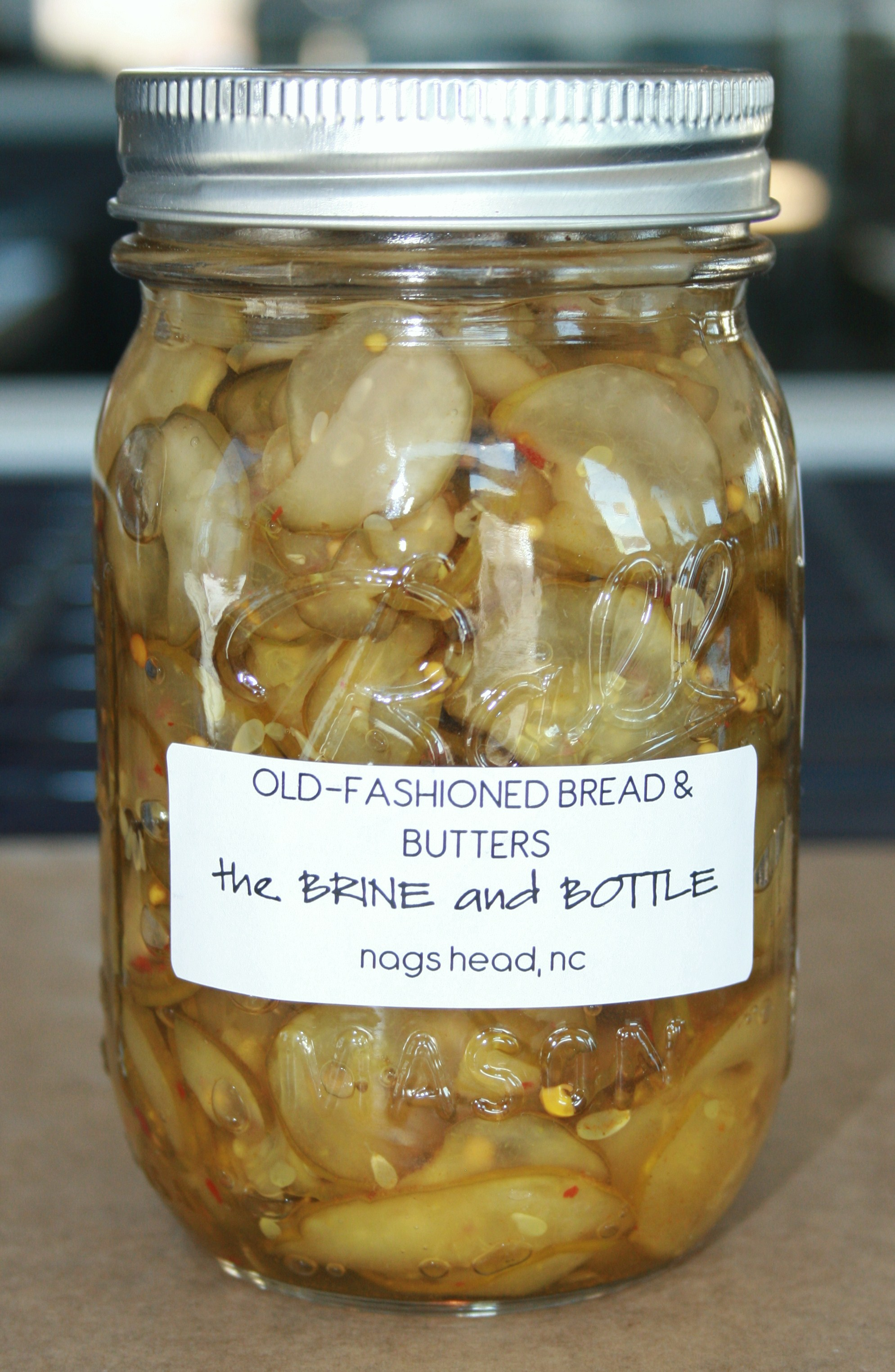Old-Fashioned Bread & Butter Pickles