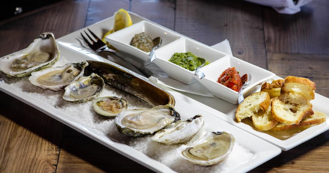 Tapas from the water on the water welcome to the 2018 - Bluewater grill seafood restaurant oyster bar ...